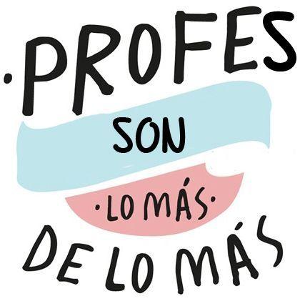 ¡¡ Feliz día a todos nuestros profesores!!