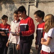 Encuentro de alumnos de 8° Básico de Madrigal y La Girouette