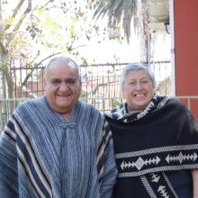 Reconocimiento a don Juan y señora María